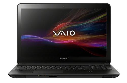 Sony VAIO SVF15A16CXB 15.5-Inch Touchscreen Laptop (2.0 GHz Intel Core i7-3537U Processor, 8 GB DDR3L, 1 TB  HDD, 8GB SSD, Windows 8) Black (Sony Vaio Intel Core I7)