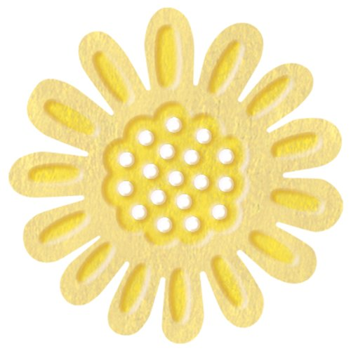UCHIDA Marvy Clever Lever Super Jumbo Silhouette and Embossing Punch, Sunflower
