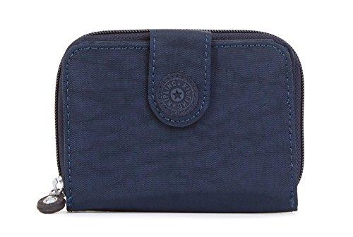 Deluxe Womans Wallet - Kipling New Money Deluxe Wallet, True Blue, One Size