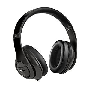 JAM Transit City Wireless Bluetooth Headphones, Collapsible Design, Active Noise Canceling, Up to 12 Hour Playtime, Hands-Free Calling, Aux-in Cord Included, HX-HP150 Black