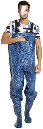 防水ナイロン釣りユニセックス胸ウェーダー ユニセックス釣りウェイダー防水狩猟胸部ウェイダー付きブーツベルト軽量で通気 チェスト ハイ ウェダー 防水 釣り (色 : A, Size : 40)