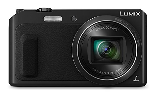 Panasonic Lumix Dmc-Tz57Eb-K Compact Digital Camera - Black (16 Mp,...