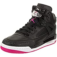 69ad216b2bdb Jordan Nike Kids Spizike GG Black Deadly Pink Anthracite Basketball Shoe  4.5 Kids US