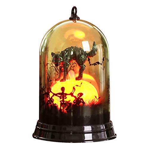 Halloween Decoration Dooior Halloween with Pumpkin Lantern Lantern Paper Lantern Hanging Decor]()