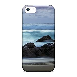 New Arrival Case Cover With CmvPoCz8687vUuwi Design For Iphone 5c- Beach