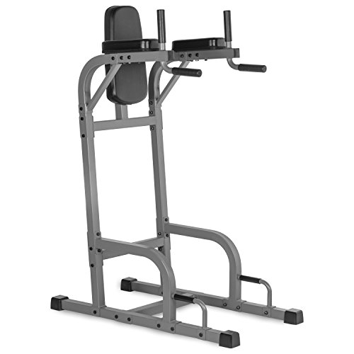 Abdominal+Machine Products : XMark Vertical Knee Raise with Dip Station XM-4437.1