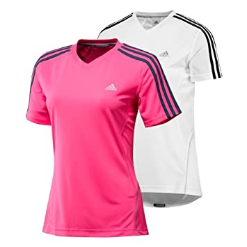 Adidas Climacool Formación Mujer Jogging/Fitness/Camiseta de Tenis RSP DS S/S T W