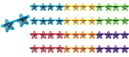 Amscan Star Sunglasses Mega Value Pack Party Supply, Assorted, 2 1/4
