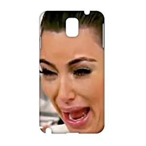 Angl 3D Kim Kardashian's Top 5 ugly cry faces Phone For Case Samsung Note 4 Cover