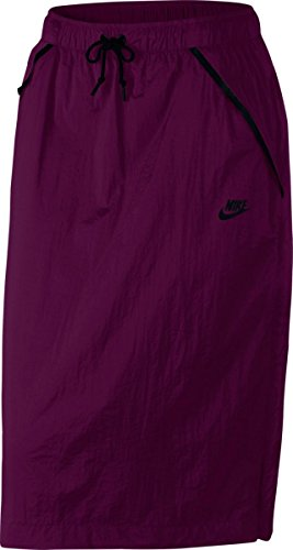 Nike Womens Tech Hypermesh Sportswear Skirt-Berry-XL ()
