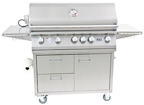 Lion Premium Grills 53861 Grill Cart by Lion Premium Grills