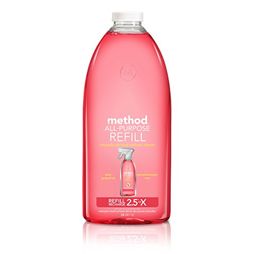 - Method All-Purpose Cleaner Refill, Pink Grapefruit, 68 Fluid Ounce