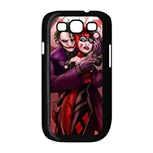 Batman The Joker Why so Serious and Harley Quinn Love Unique Durable TPU Rubber Case Skin for Samsung Galaxy S3 I9300