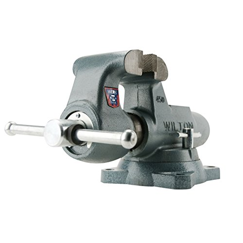 Wilton 10036 800S 8-Inch Jaw Width by 12-Inch Opening Machinist Swivel Base Vise