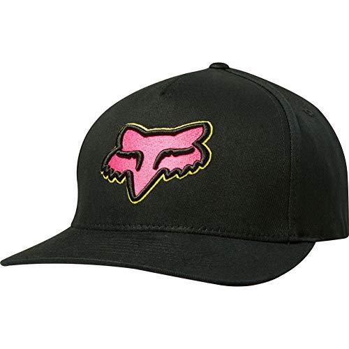 Fox Racing Epicycle Flexfit Hat-Black/Pink-S/M