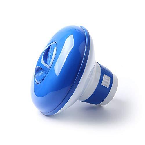 SEN Dispensador Flotante de la Tableta qu/ímica del Cloro autom/ático para el Azul y el Blanco 5del Balneario de la Piscina