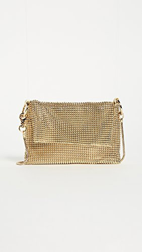 Cross Body Women's Mesh Whiting Bag Gold Pyramid amp; Davis TnEBYX