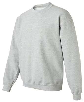 Gildan Activewear Men's Heavy Blend Crewneck Sweatshirt, S, Sport Grey