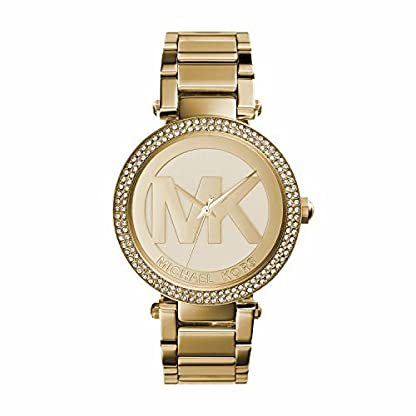 Michael Kors Damen Analog Quarz Uhr mit Edelstahl Armband MK5784 1