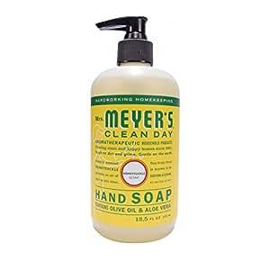 Mrs. Meyer's Clean Day Liquid Hand Soap, Honeysuckle, 12.5 fl oz