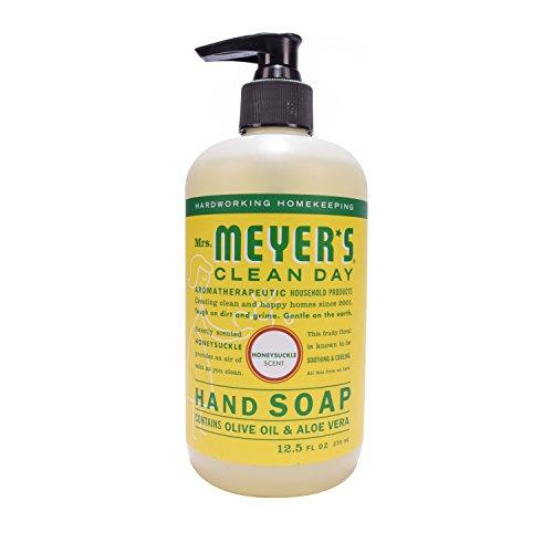 Mrs. Meyer´s Clean Day Hand Soap, Honeysuckle, 12.5 fl oz, 3 ct by Mrs. Meyer's Clean Day (Image #2)