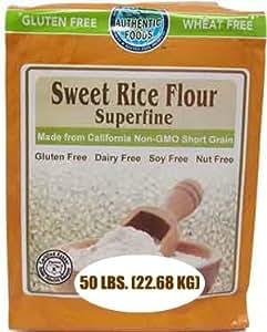 Amazon.com : Authentic Foods Sweet Rice Flour, Superfine