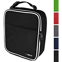 OPUX Premium Thermal Insulated Mini Lunch Bag | School Lunch Box For Boys, Girls, Kids, Adults | Soft Leakproof Liner | Compact Lunch Pail for Office