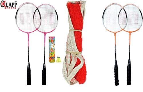 Klapp Zigma Single Shaft Badminton Badminton Set with 10 Shuttlecock Price & Reviews