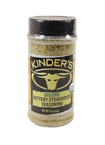 Kinder's Organic Buttery Steakhouse Seasoning Rub 10.4 Ounce by Kinder's Organic