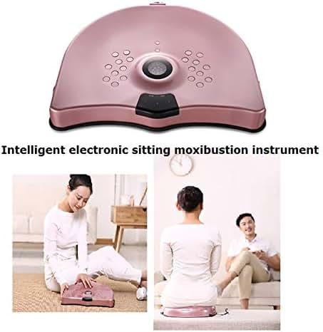 Intelligent Electronic Sitting Moxibustion Instrument for Woman Health Care Treat of Cervicitis, Pelvic Inflammatory Disease Massage