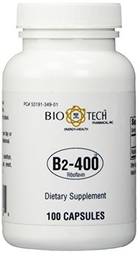 - Bio-Tech - Vitamin B-2 400 mg 100 caps