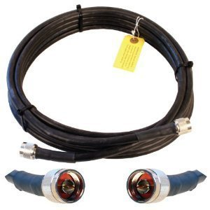 Wilson Electronics 20-Foot WILSON400 Ultra Low Loss Coax Cable with N Male (Wilson Electronics Amp)