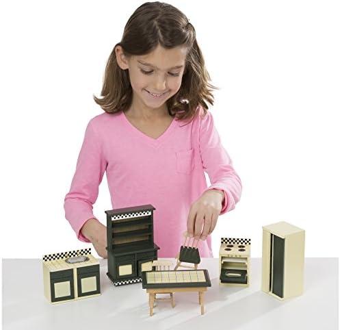 toys, games, dolls, accessories, dollhouse accessories,  furniture 10 picture Melissa & Doug Doll-House Furniture- Kitchen Set deals