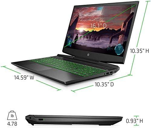 2021 Newest HP Pavilion Gaming Laptop 16.1 inch FHD IPS 144Hz Display, Intel Core i5-10300H,NVIDIA GeForce GTX 1660 Ti, 16GB DDR4 RAM, 512GB SSD + 32GB Optane, Windows 10 Home, Black +Oydisen Cloth