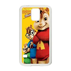 Alvin and the Chipmunks Samsung Galaxy S5 Cell Phone Case White SUJ8449659