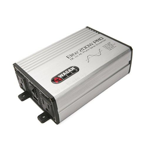 Wagan EL2600 Elite Pro 200W Pure Sine Inverter