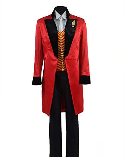 Greatest PT Barnum Cosplay Costume Performance Uniform Showman
