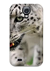 Everett L. Carrasquillo's Shop 6545805K32591775 Hot Case Cover Protector For Galaxy S4- Snow Leopard Pictures