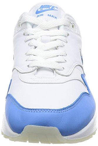 Scarpe Da Ginnastica Nike Air Max 1 Premium Sc Mens Running 918354 Scarpe Da Ginnastica Bianche / Blu