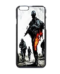 "Battlefield Bad Company 2 Pattern Image Protective iphone 6 (4.7"") Case Cover Hard Plastic Case For iPhone 6 - 4.7 Inches"