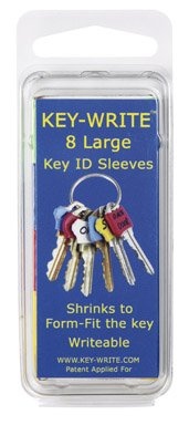 KEY ID SLEEVE LRG PK8 by KEY-WRITE MfrPartNo 080106