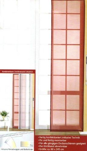 Gozze Schiebevorhang Bordeaux 60x 245 Cm Amazon De Kuche Haushalt