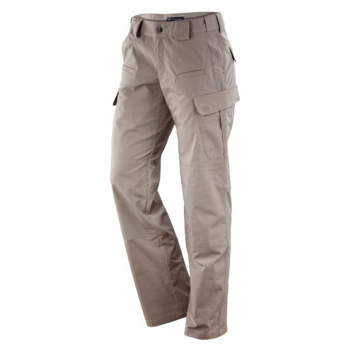 5.11 Tactical Women's Stryke Pant, Khaki, 14 R Adventure Khaki Pants