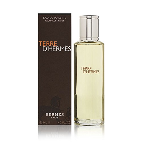 Terre D'Hermes by Hermes for Men 4.2 oz Eau de Toilette Refill Eau De Toilette Refill