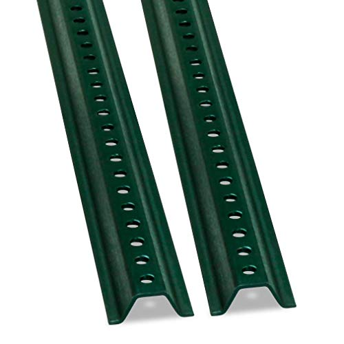 (U-Channel Sign Post by SmartSign, Medium Weight | 8' Tall Baked Enamel Steel Post - Pack of)