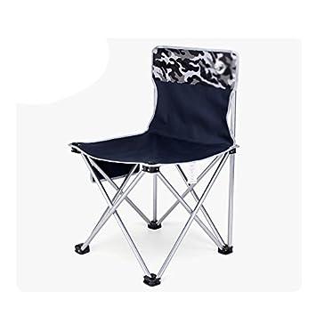 Folding Chair Health UK Chaise Pliante Bleu Sports Confortable Fer Ralisateur Croquis Art Tabouret Longue