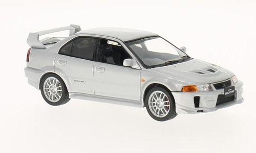 Price comparison product image Mitsubishi Lancer Evo V RS,  silber,  RHD,  0,  Modellauto,  Fertigmodell,  WhiteBox 1:43