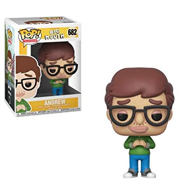 Funko Pop Television: Big Mouth - Andrew Collectible Figure, Multicolor: Toys & Games