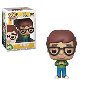 Funko Pop Television: Big Mouth - Andrew Collectible Figure, Multicolor