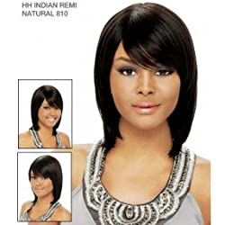 It's a Wig 100% Indian Remi Human Hair Wig Natural 810 Color 1